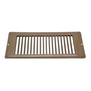 """#013-634 - Face Plate, Brown, 4"""" x 10"""""""