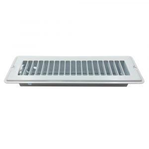 """#013-640 - Floor Register, White, 2-1/4"""" x 10"""""""