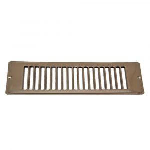 """#013-643 - Face Plate, Brown, 2-1/4"""" x 10"""""""