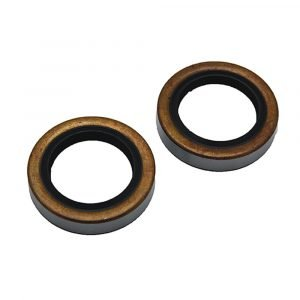 """#014-122087-2 - Double Lip Grease Seal for 2800-3500K I.D. 1.719"""", 2 Pack"""