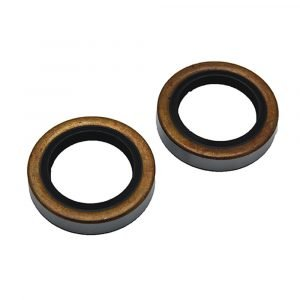 """#014-122088-2 - Double Lip Grease Seal for 5200/6000/7000 I.D. 2.25"""", 2 Pack"""