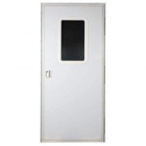 "#015-217718 - Square Entrance Door RH, 26"" x 78"", White"